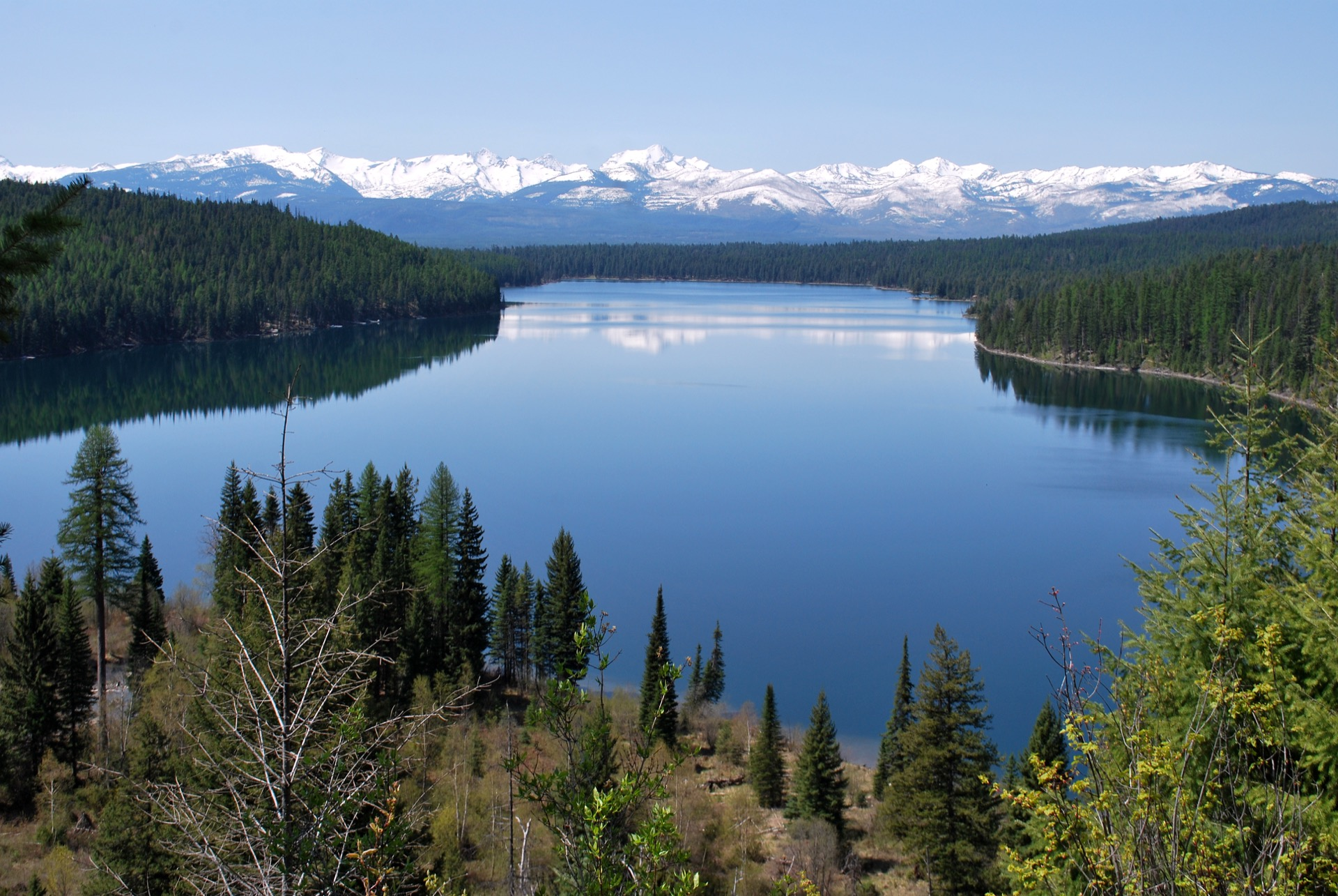 этот озеро флатхед фото глубина момента